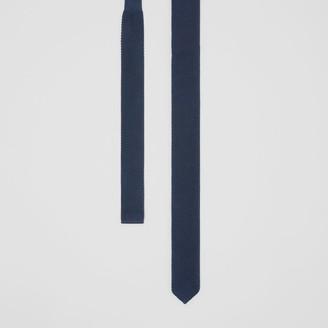 Burberry Slim Cut Knit Silk Tie