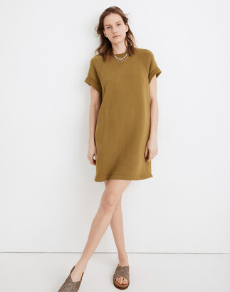 Madewell MWL Airyterry Sweatshirt Tee Dress