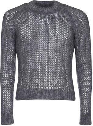Prada Knitted See-through Sweater