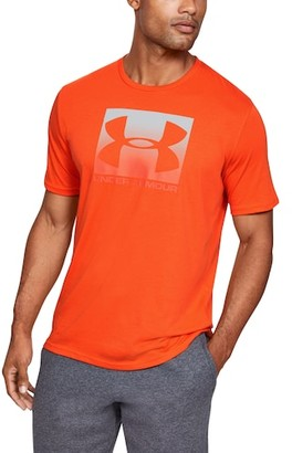 Under Armour Boxed Sportstyle Short Sleeve T-Shirt - Ultra Orange / Spark