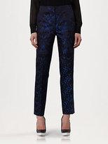 Mix Brocade Jacquard Pants