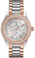 Bulova Ladies Two Tone Dress Watch