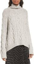 Vince Women's Cable Knit Turtleneck Sweater