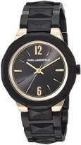Karl Lagerfeld Women's 'Joleigh' Quartz Stainless Steel Casual Watch, Color: (Model: KL3401)