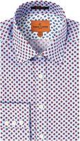 Simon Carter Ls Sf Blue/red Lemons Moore Shirt