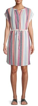 Time and Tru Women's Cinched Waist Dress