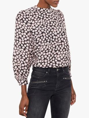 Mint Velvet Elle Floral Top, Multi