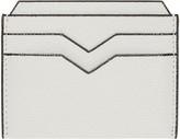 Valextra Off-white 4cc Card Holder