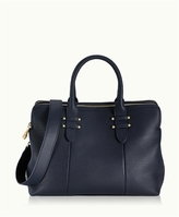 GiGi New York Parker Satchel Pebble Grain