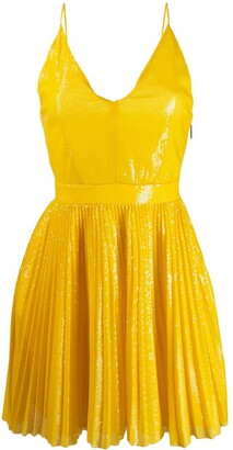 MSGM short pleated dress