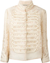 Ermanno Scervino double-breasted high neck shirt