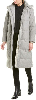 Rag & Bone Jenset Wool-Blend Down Coat