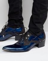 Jeffery West Sylvian Leather Heel Shoes