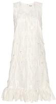 Balenciaga Fil coupé silk dress