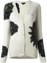 Etro floral pattern cardigan - women - Cashmere/Wool - 42