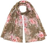 New Look Women's Floral Scarf