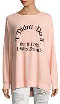 Wildfox Couture It Wasn't Me Sweatshirt