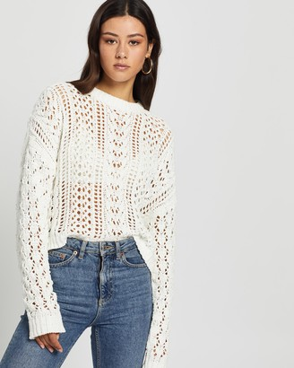 Volcom Wish Net Sweater
