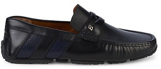 Bally Pierrick Slip-On Leather Loafers