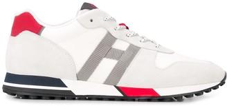 Hogan contrast heel sneakers