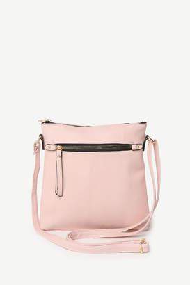 Ardene Basic Faux Leather Crossbody Bag