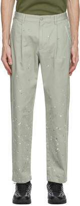 This Is Never That thisisneverthat Grey Crazy Work Trousers