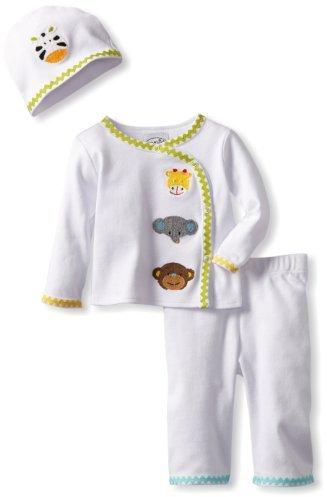 Mud Pie Unisex-Baby Newborn Safari Take Me Home Set