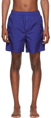 Moncler Blue Bermuda Swim Shorts