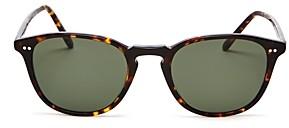 Oliver Peoples Unisex Forman Polarized Round Sunglasses, 51mm