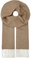 Johnstons Plain cashmere-vicuna scarf