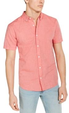Levi's Men's Chambray Short-Sleeve Oxford Shirt