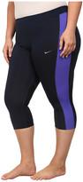 Nike Dri-FITTM Essential Running Crop (Size 1X-3X)