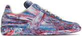 Maison Margiela Multicolor Tie-dye Replica Sneakers