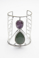 Free People Womens CAGED STONE CUFF