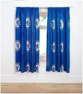 Chelsea Bullseye Pleated Curtains