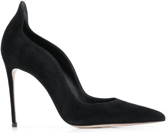 Le Silla Sculpted Pointed Pumps