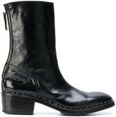 Premiata back zip boots