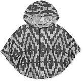 Arizona Long-Sleeve Hooded Poncho - Preschool Girls 4-6x