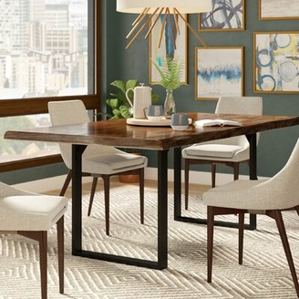 Three Posts Northam Dining Solid Wood Table