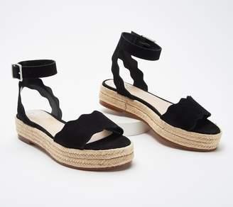 Vince Camuto Leather Espadrille Sandals - Kamperla