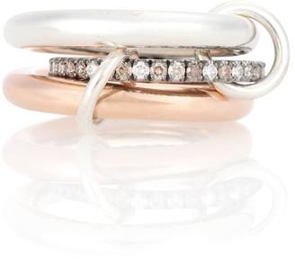 Spinelli Kilcollin Libra Custom 18kt gold diamond ring