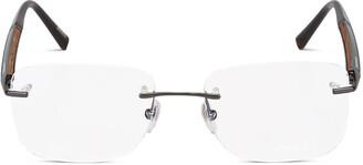 Chopard Eyewear Rimless Square Shaped Glasses