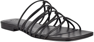 Marc Fisher Marcio Flat Strappy Slide Sandals