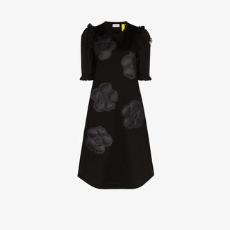 MONCLER GENIUS 4 Moncler Simone Rocha puffer flower cotton midi dress