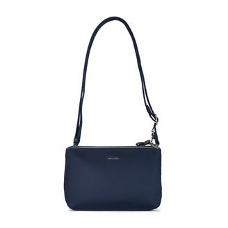 Pacsafe Women's Stylesafe 4L Anti Theft Double Zip Crossbody Bag