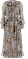 Zimmermann Painted Heart Ruffle Dress