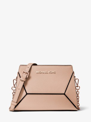 MICHAEL Michael Kors Prism Medium Saffiano Leather Crossbody Bag