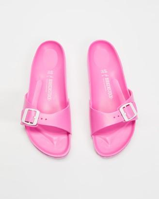 Birkenstock Women's Pink Flat Sandals - Madrid EVA - Women's - Size 36 at The Iconic