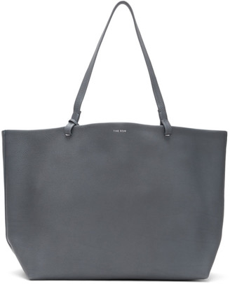 The Row Blue Leather Park Tote