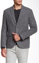 Zachary Prell Wimbledon Notch Collar Wool Blend Blazer